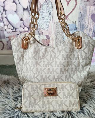 Michael kors hand bag and purse