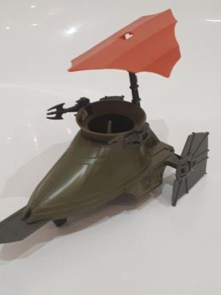 Desert sail skiff Star Wars 1984