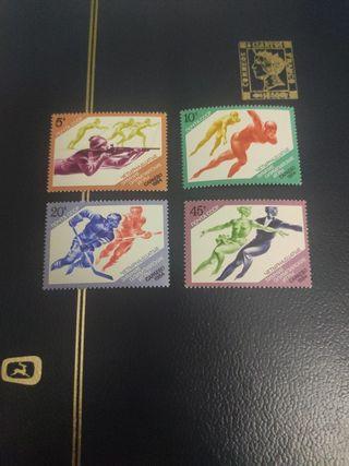 Serie Rusia 1984 TEMA: olímpiadas Sarajevo