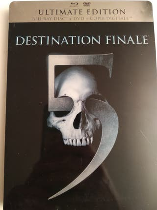 Steelbook. Destination Finale 5. Bluray