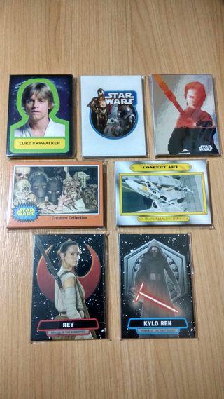 Colección Cartas Star Wars Despertar de la Fuerza