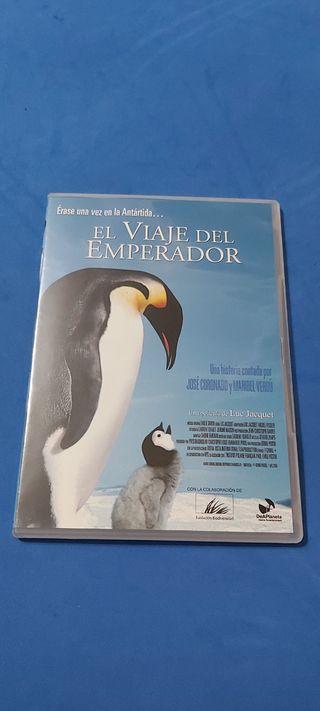 DVD El Viaje del Emperador
