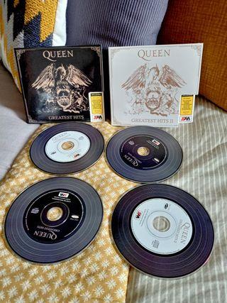 4CD Queen Greatest hits