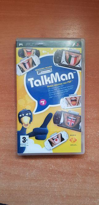 Videojuego Talk Man PSP