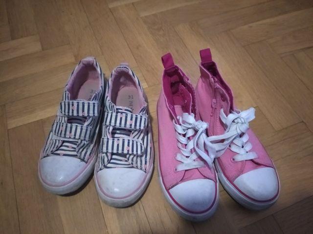 zapatillas lona niña num 31