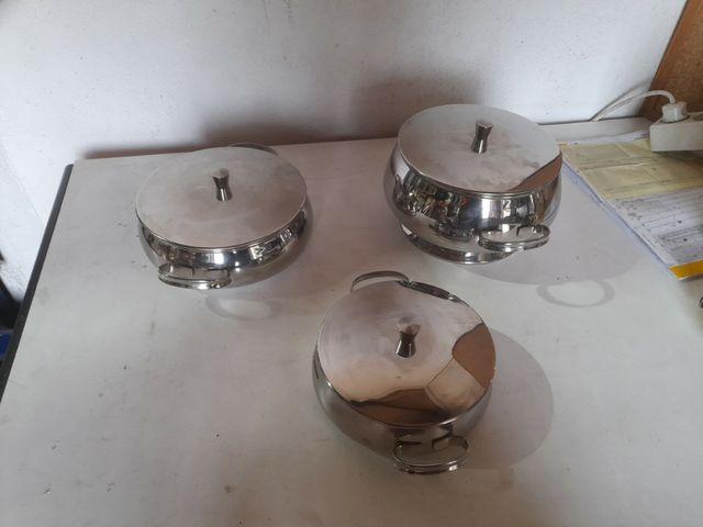 Cacerolas de presentación acero inox
