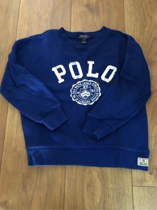 Jersey niño Polo Ralph Lauren. Talla 6. Azul