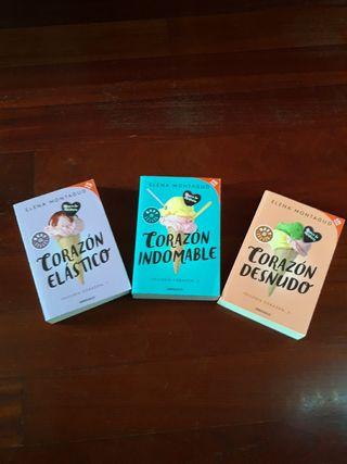 Trilogía corazón novela Elena Montagud Best seller