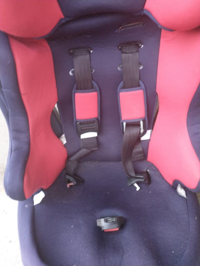 Blue Red Baby Child Kid Car Safety Seat