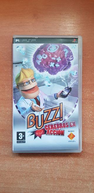 Buzz! Cerebros en Acción PSP