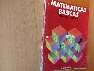 Matemáticas básicas 3 EGB Anaya.