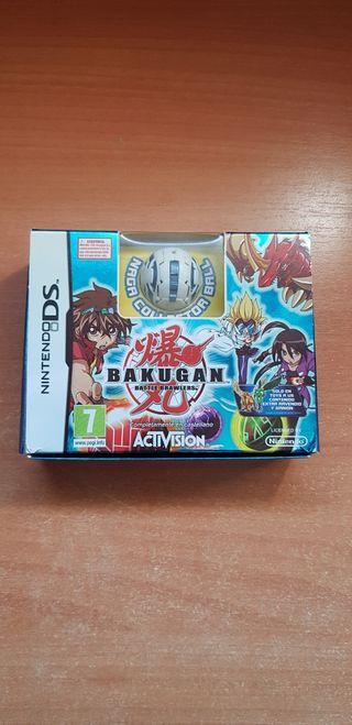 Videojuego Bakugan Battle Brawlers nds