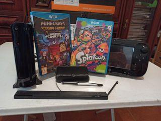 Wii U + 2 juegos