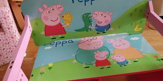 Banco pupitre de Peppa Pig