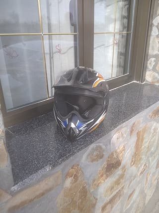 Casco de moto cross