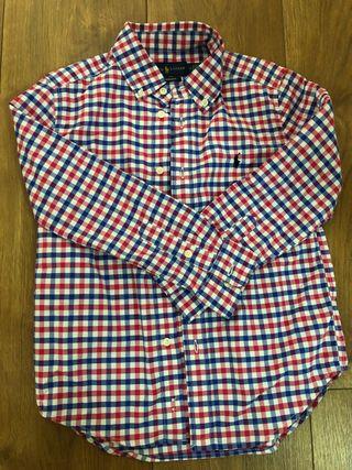 Camisa niño Polo Ralph Lauren. Talla 6. Cuadros