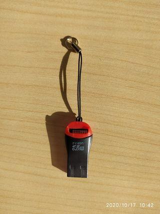 Conversor micro SD a pendrive USB