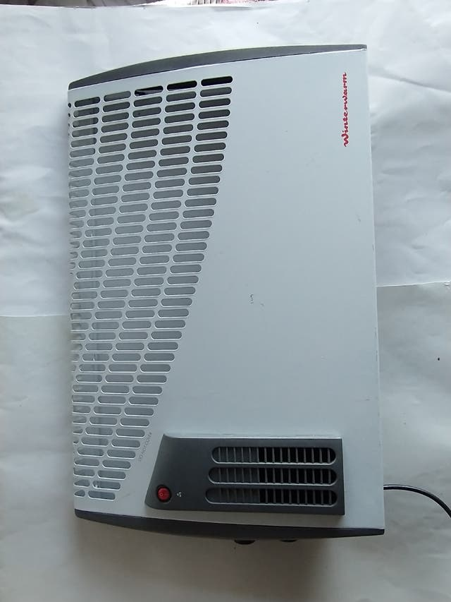 Small Electronic Heater White Convector Radiator