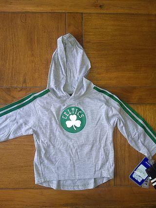 Camiseta de manga larga Celtics 24 meses