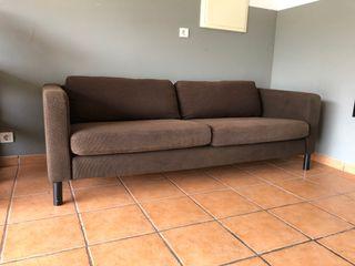 Sofa IKEA tela marron