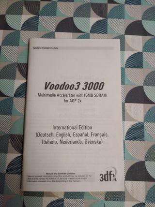Manual Voodoo3 3000 3dfx