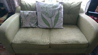 Green 2 Seater Sofa