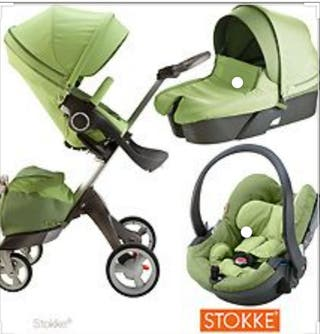 Cochecito STOKKE XPLORY verde