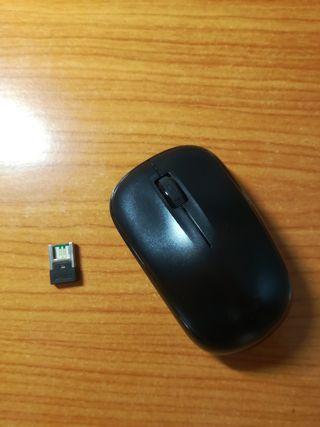 Ratón inalámbrico pendrive USB