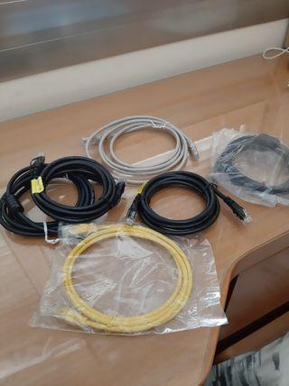 Cables utp cat 6 y 5, y cable hdmi