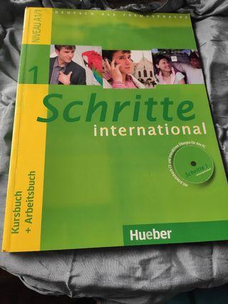 libro alemán Schritte International
