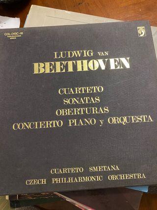 disco de vinilo Beethoven 1982,83,84.