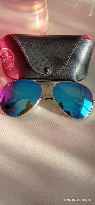 Gafas de sol Ray-Ban con cristales polarizados.
