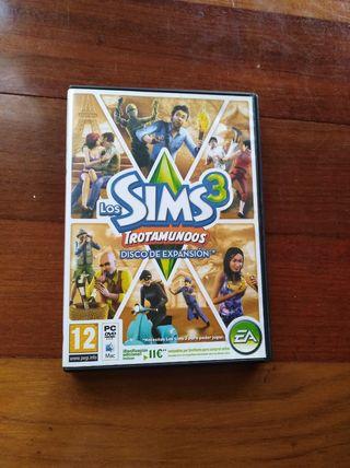 Juego pc expansion Sims 3 Trotamundos