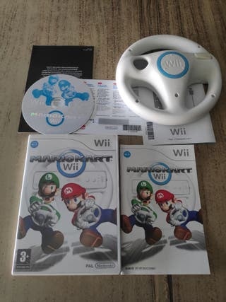 Mario kart + volante