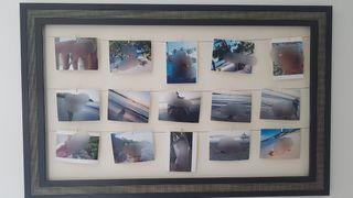 marco de pared para fotos