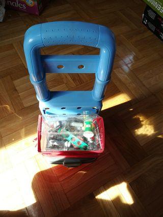 Carrito con Herramientas de plástico