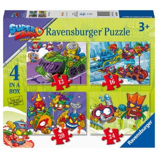 Superthings puzzle 4x1