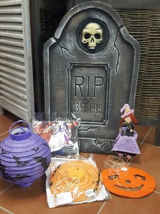 Castanyada. Halloween decoración.
