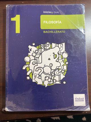 Libro de filosofía de bachillerato