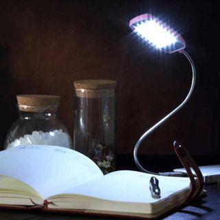 2 lámparas led de lectura o portátil