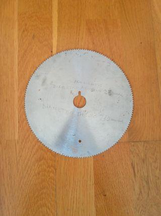 Disco de corte para madera.