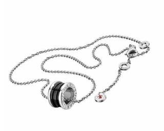 Bulgari Save The Children Necklace Cl856977 Silver