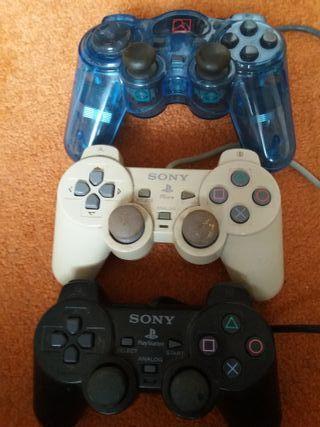 Mandos: PSone, PS2 y ordenador