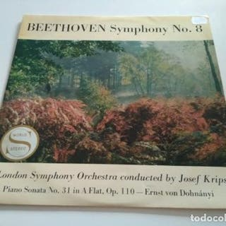 BEETHOVEN - LONDON SYMPHONY ORCHESTRA CONDUCTED BY