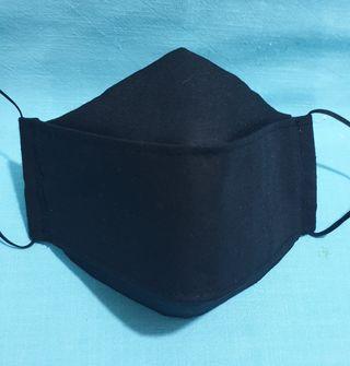 Adults Three Layers Cotton Face Mask Homemade UK