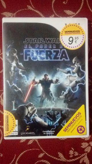 Star Wars. El poder de la fuerza Wii