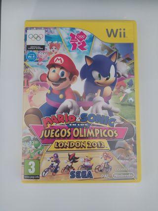 Mario y Sonic en los Juegos Olimpicos Wii
