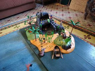 Isla pirata de playmobil