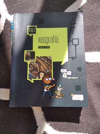 Libro Xeografía 2 ESO ISBN 9788490461518
