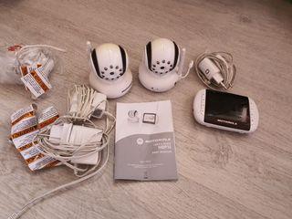 Cámaras vigilabebés Motorola MBP36 y monitor.